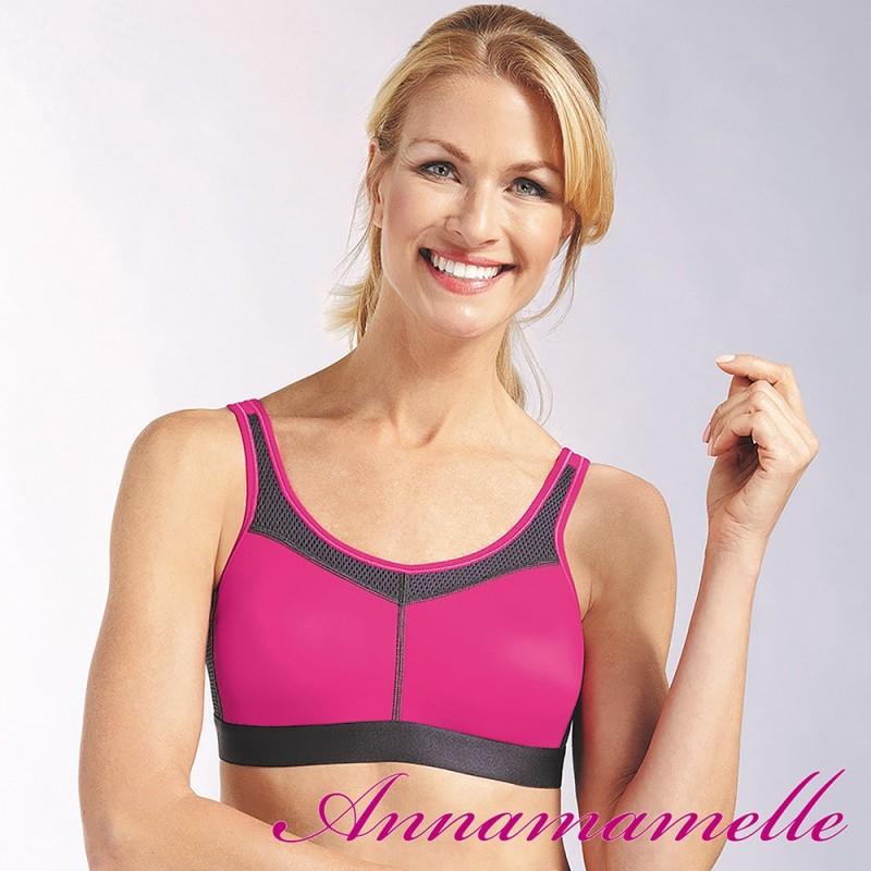 Amoena borstprothese  power sport BH tijdelijk in rose