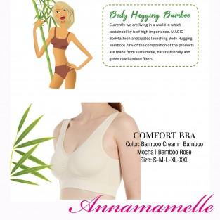 Comfi BH met uitneembare vulling ( Bamboo material)